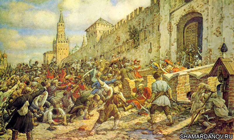 11 июня 1648 года в Москве начался «соляной бунт»