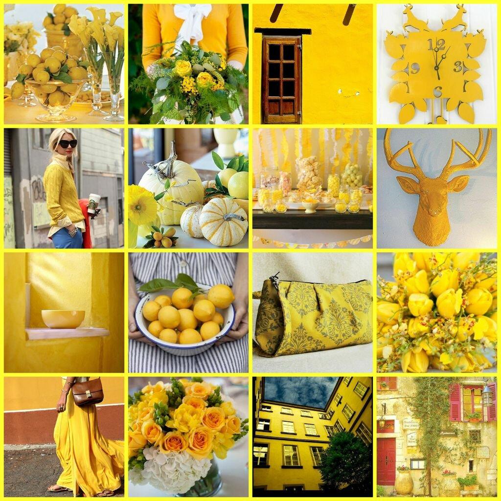 Грошовые картинки в желтых рамках