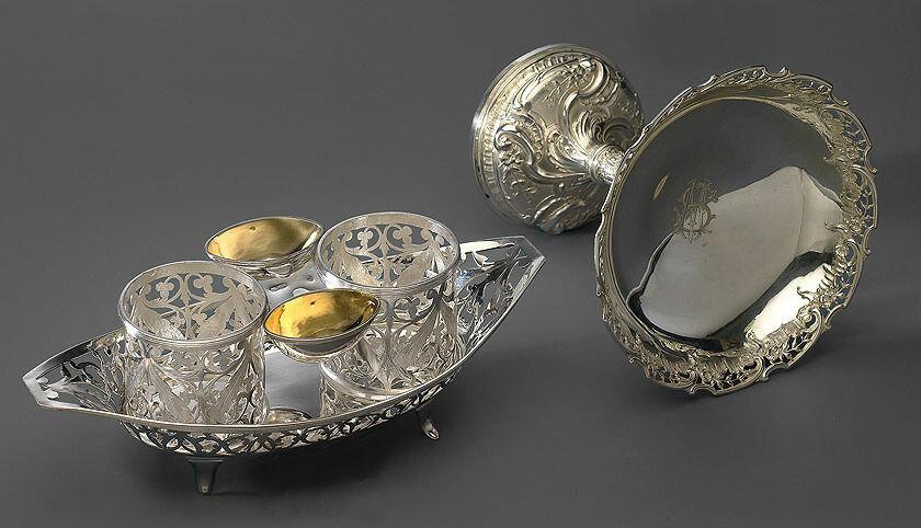 картинки серебряной посуды предназначенные для