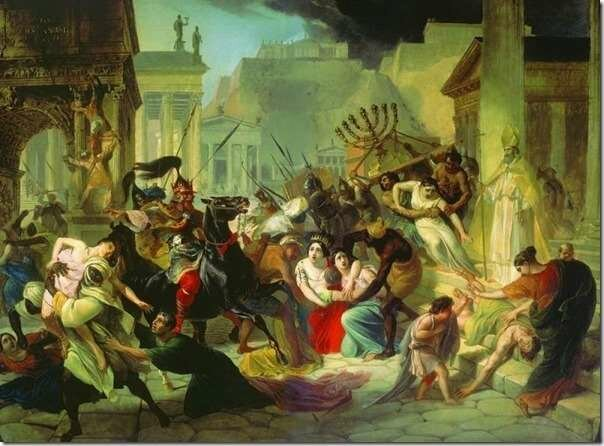 Разрушение Иерусалима Навуходоносором (586г. до н.э.)