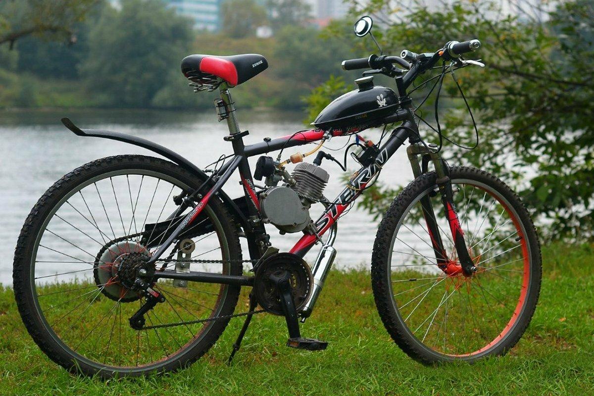 Купить велосипед с мотором
