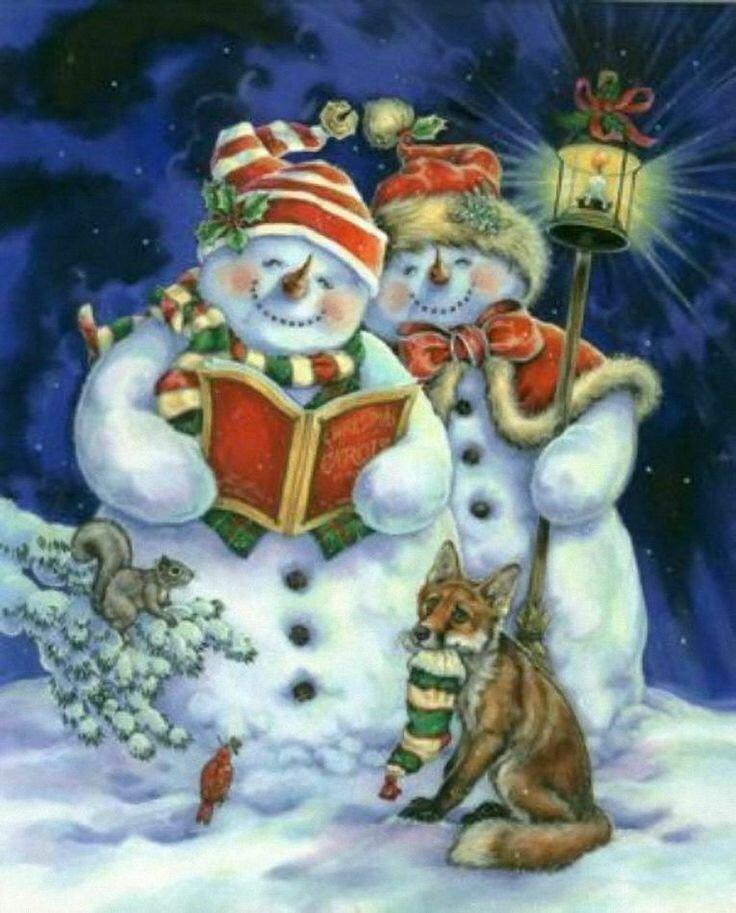ведет новогодние открытки с сюжетом приводит