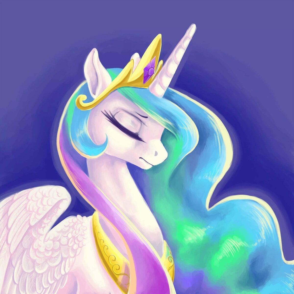 Самая красивая картинка принцессы селестии