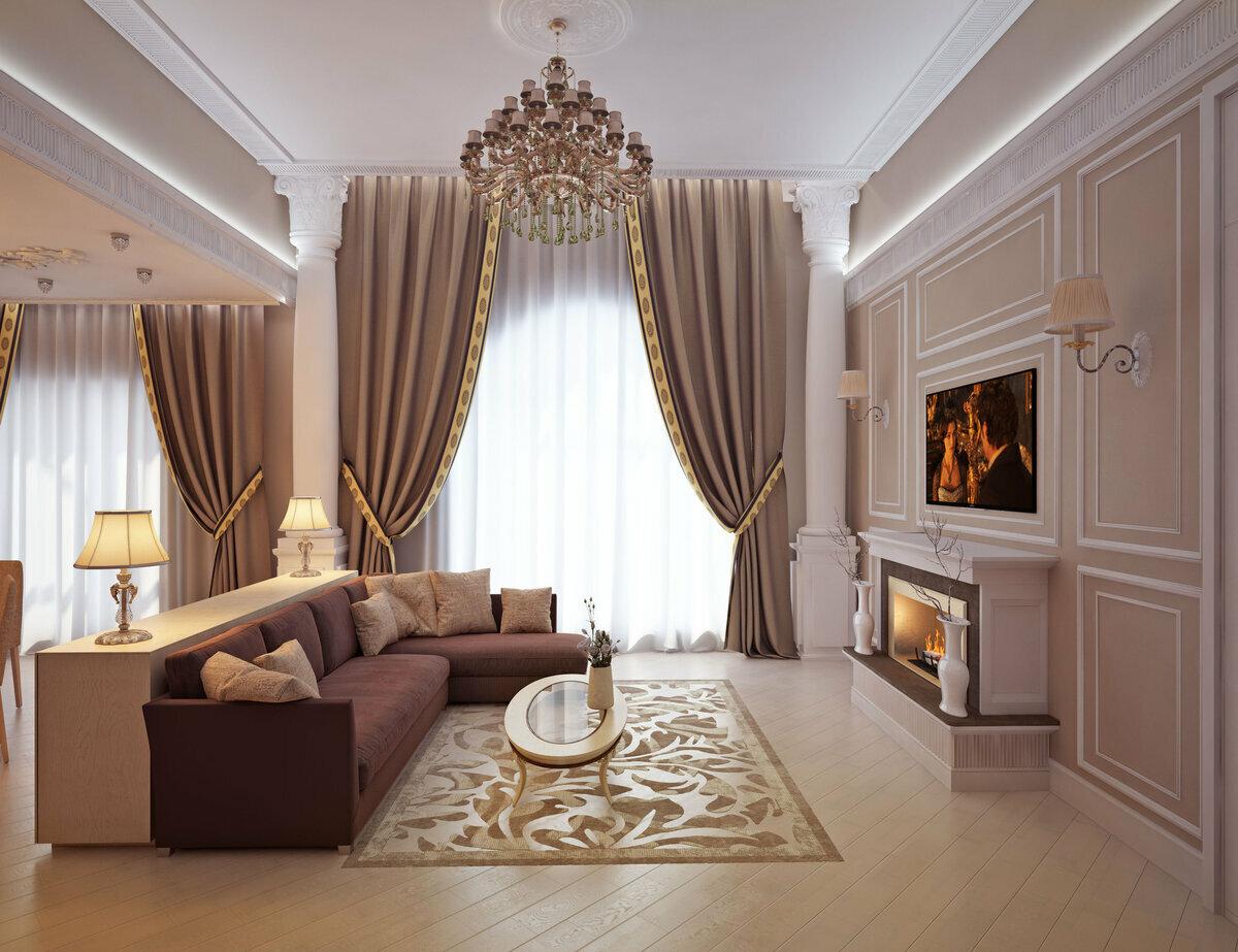 проведена красивый классический дизайн квартир фото свел меня