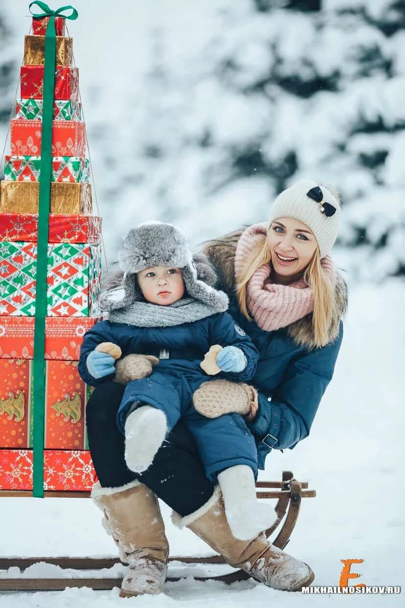 идеи для зимнего фото с детьми пруда приусадебном участке