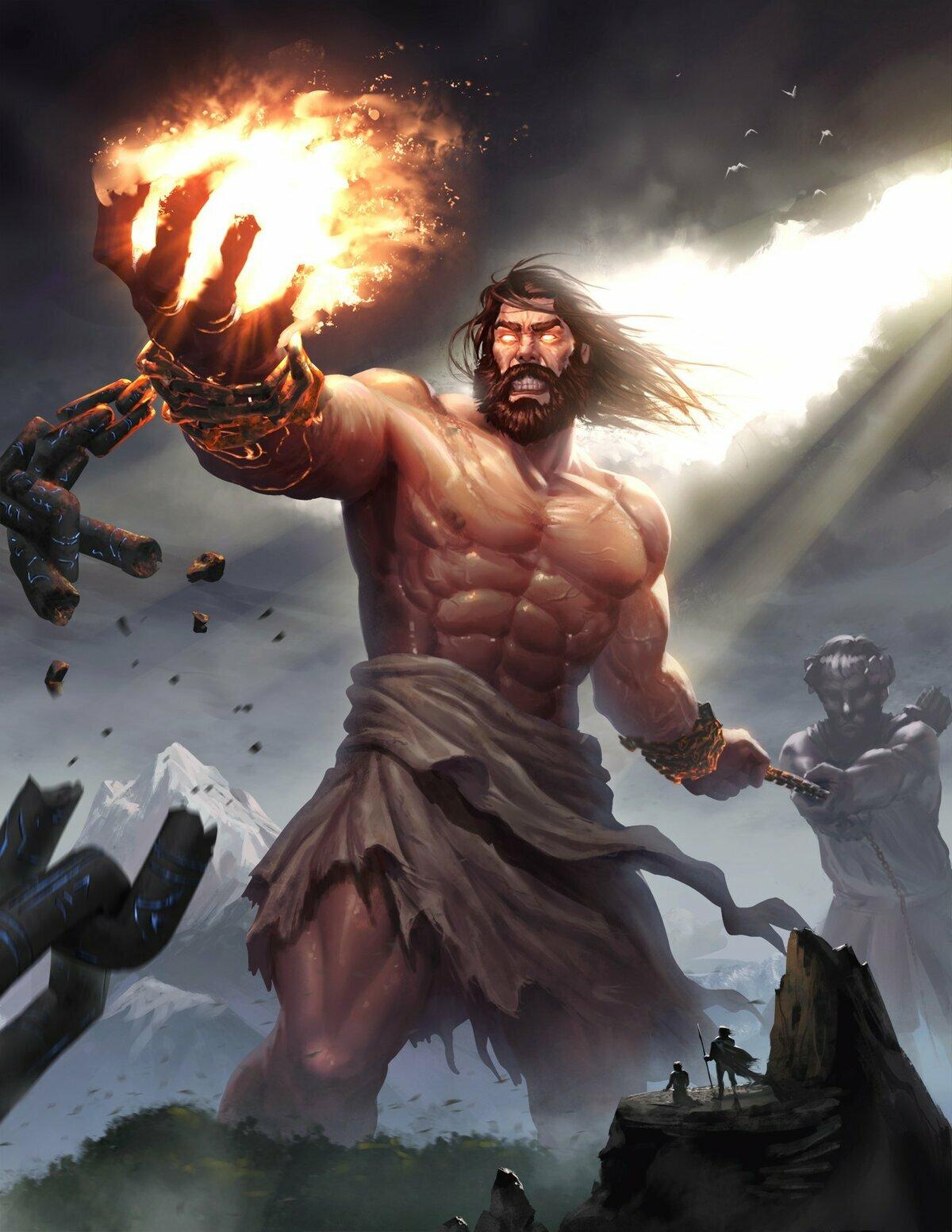 титан картинки бога этого изменили