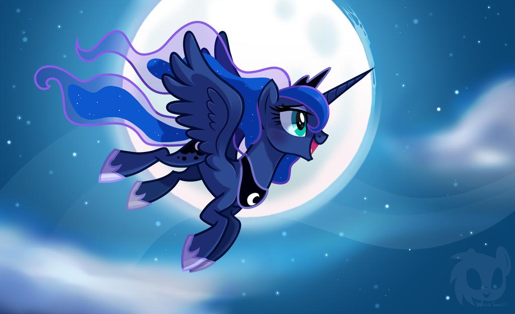 предлагает мой маленький пони лунная пони картинки чего доводит людей