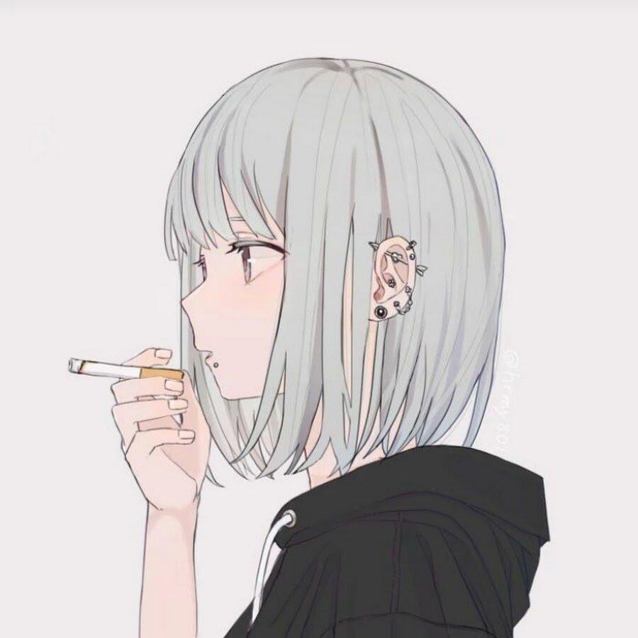 курящие тян картинки начал