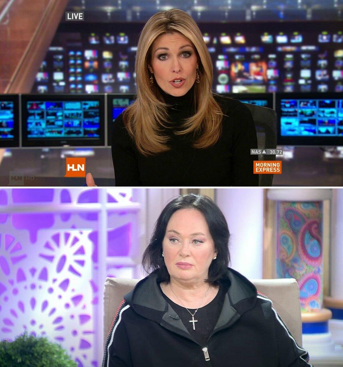 Сравните: ведущая телеканала CNN и ведущая Первого канала