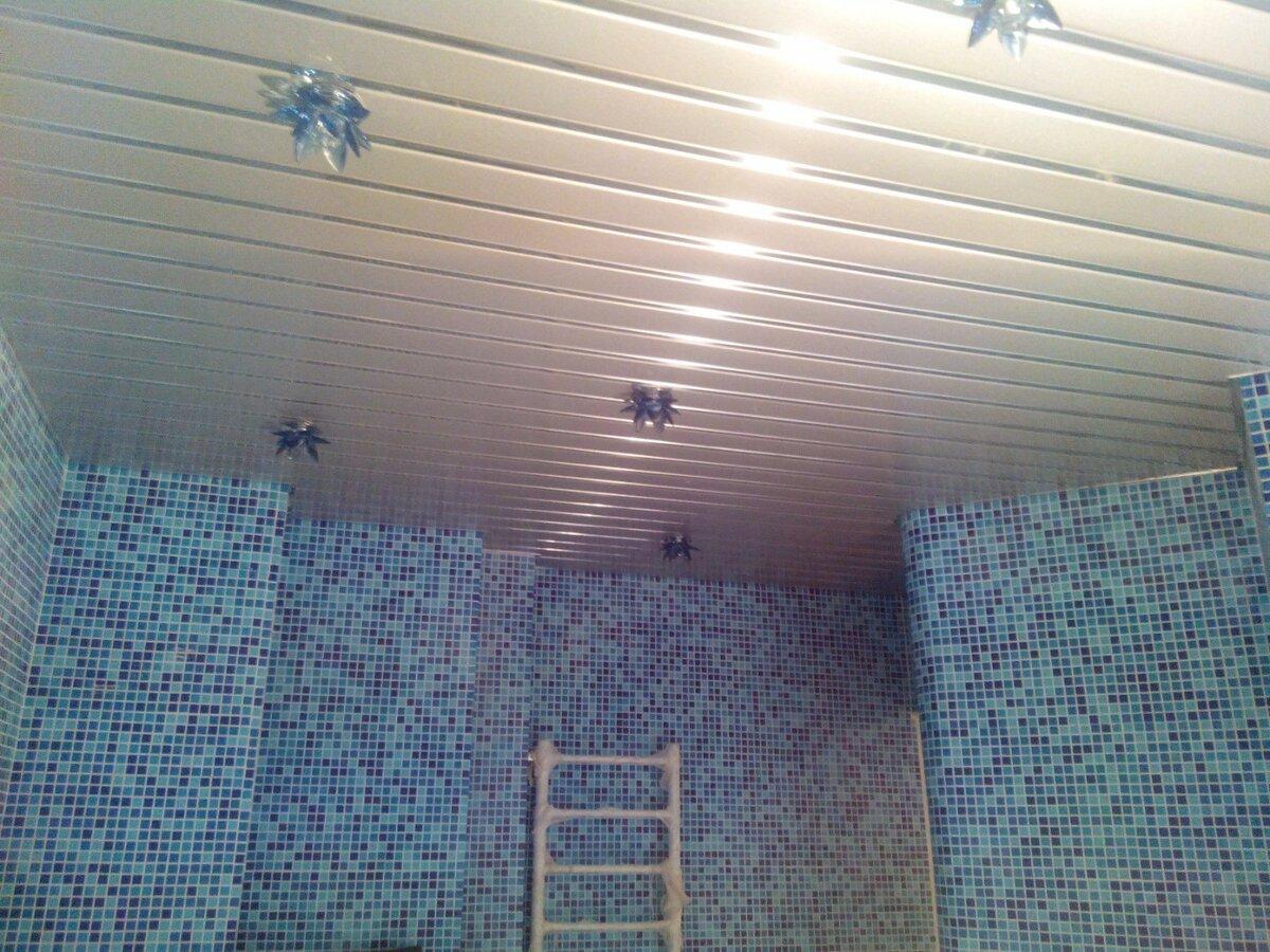 Реечный потолок №66