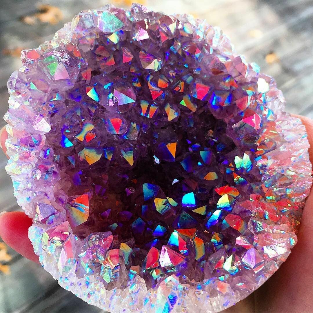 осенний мир кристаллов в картинках рассказал том, что