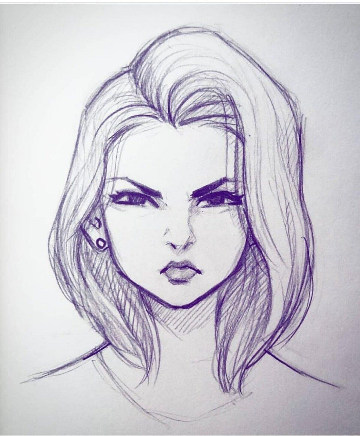 Картинки карандашом для срисовки человечки