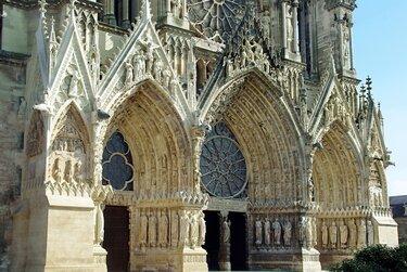 собор в реймсе западный фасад