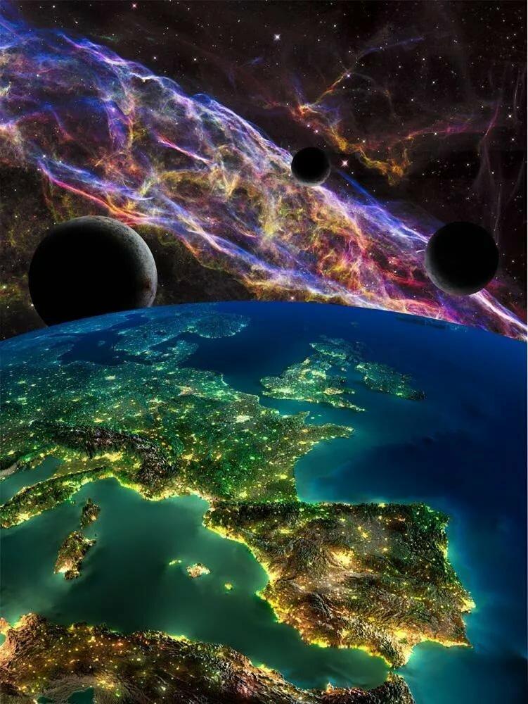 Покажи картинки из космоса смешные