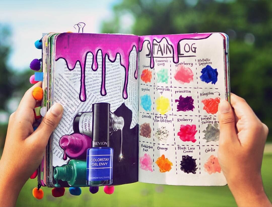Идеи в личного дневника в картинках