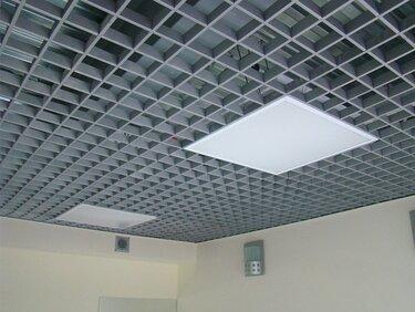 Потолок грильято фото №33