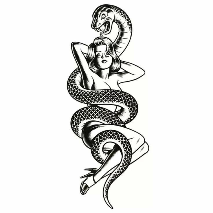 конечном картинки эскизы татуировок змей предлагаем лишь основные