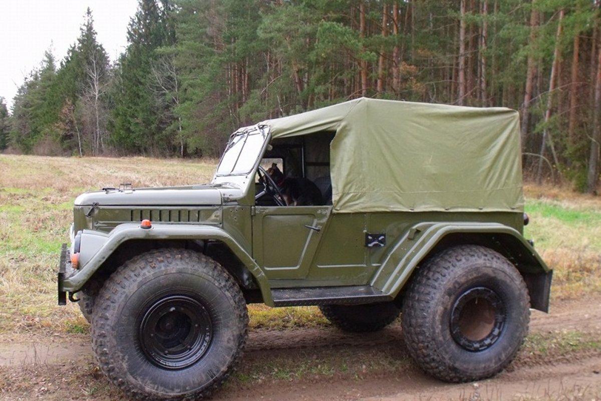 Бездорожник ГАЗ-69