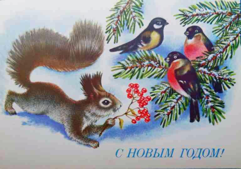 XIII-1011. С Новым годом! / Р. Достян