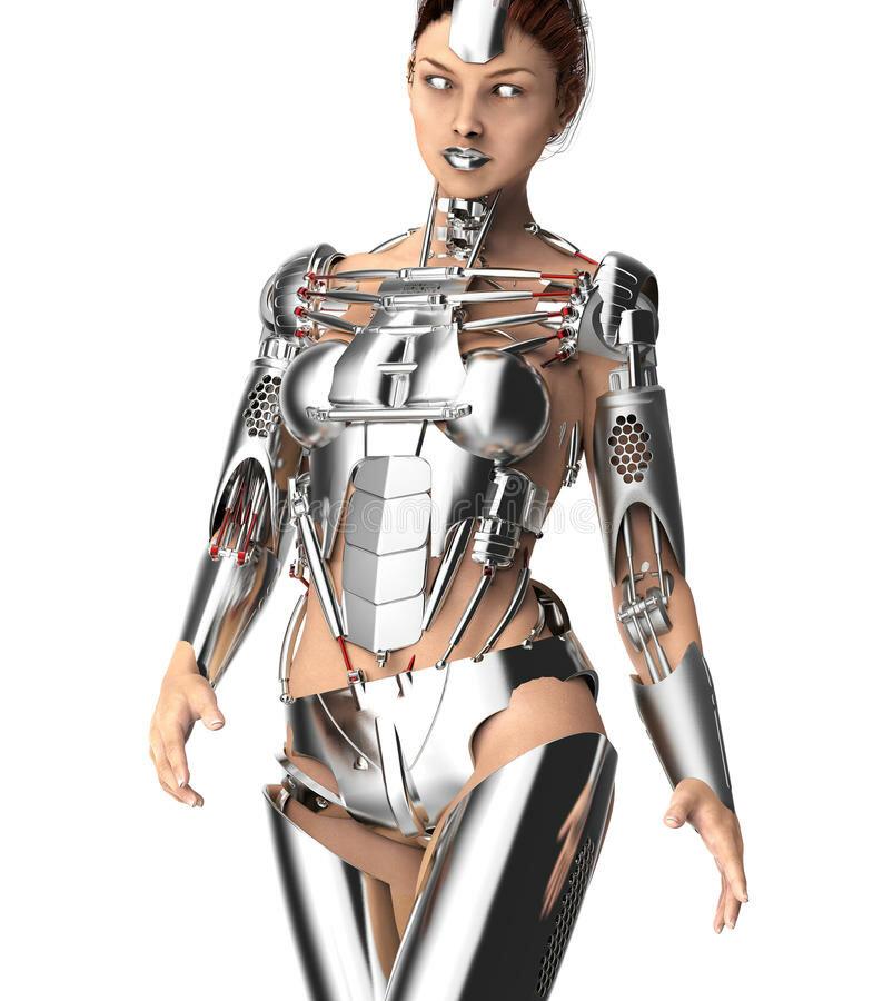 Жена робот картинки