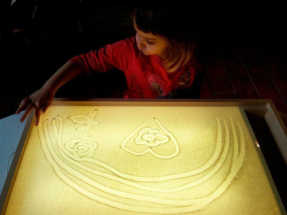 картинки палочки для рисования песком