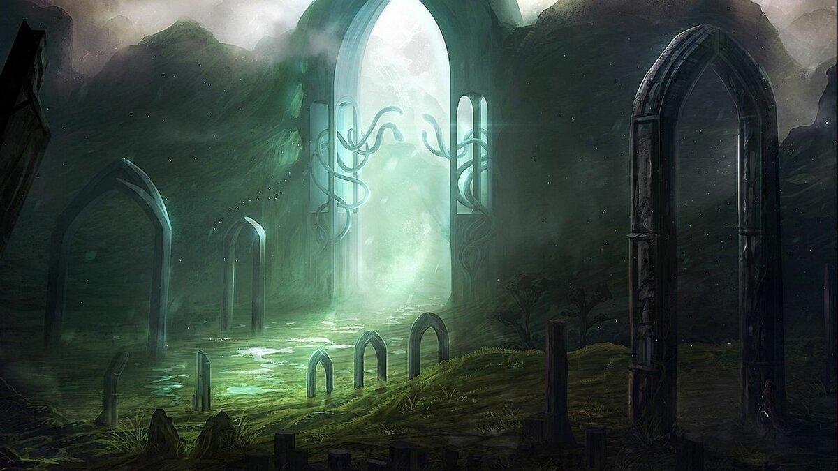Красивые картинки загробного мира