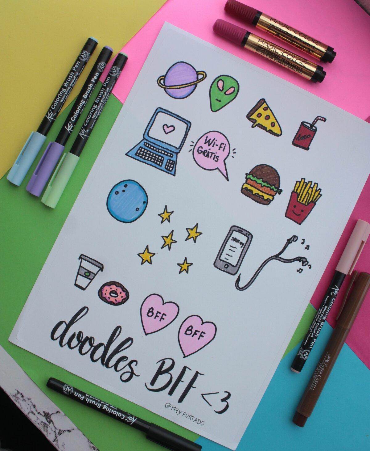 Рисунки для личных дневников