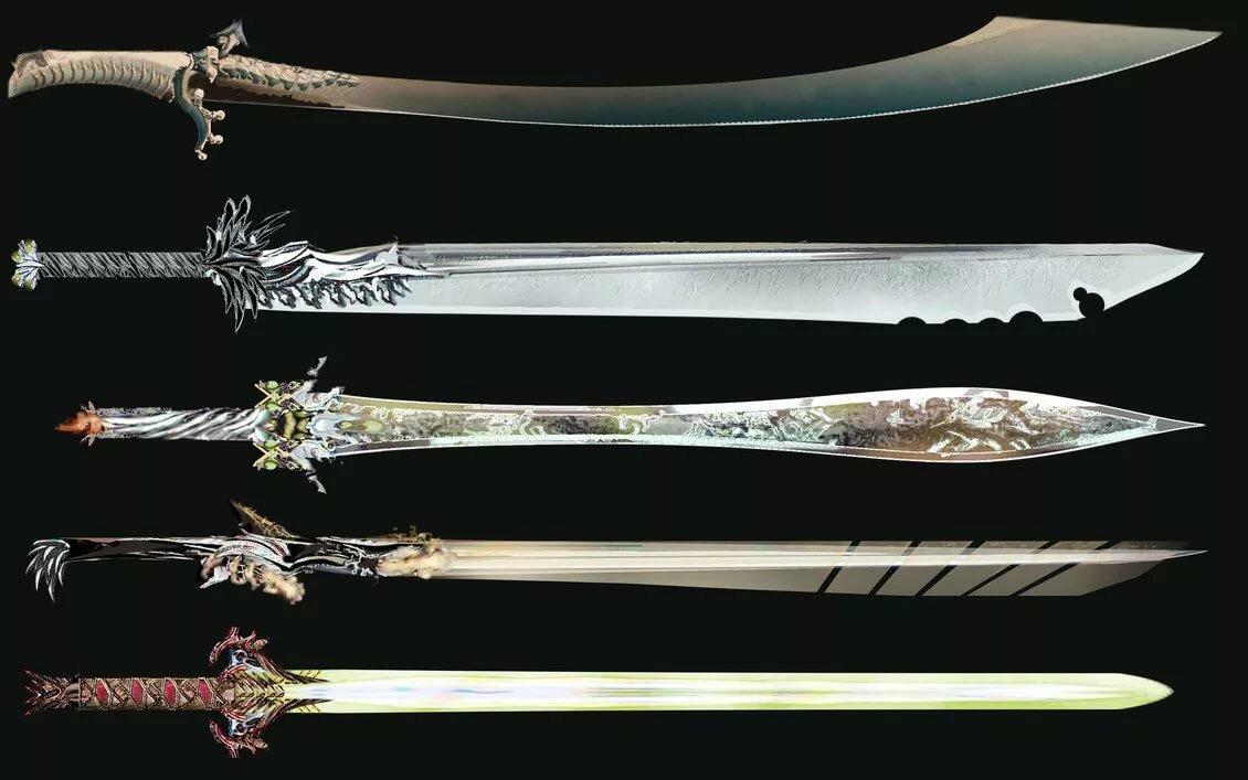 Картинки всех мечей мира