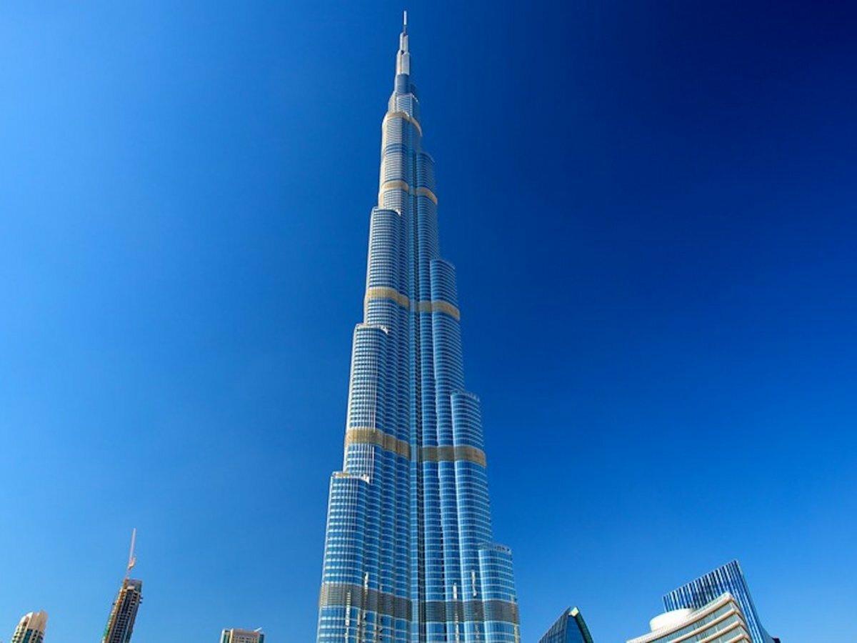 Башня халифа в дубае фото