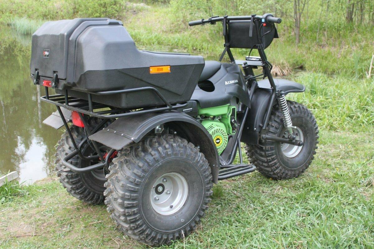 Трёхколёсный мотоболотоход Атаман Trike Power с вариатором Safari
