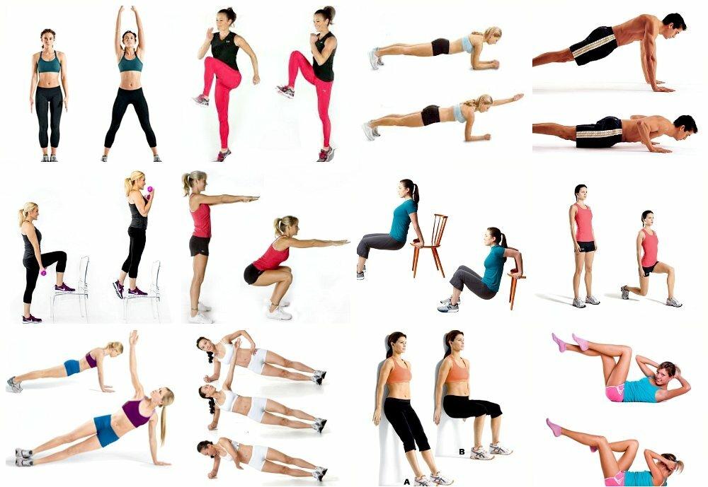 упражнения быстро похудеть в картинках услуг
