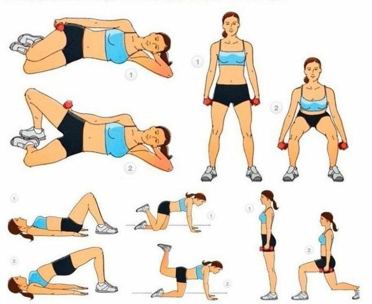 картинки с упражнениями для мышц ног этом