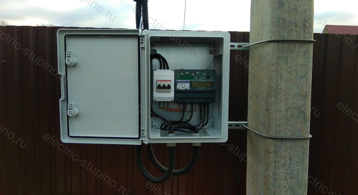 Подключение 15 кВт к частному дому своими руками в СНТ ДНП
