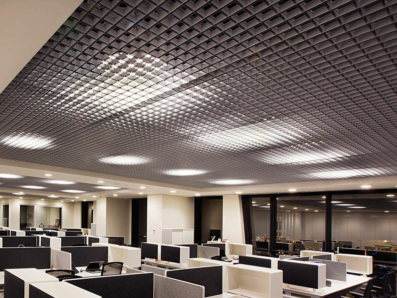Потолок грильято фото №35
