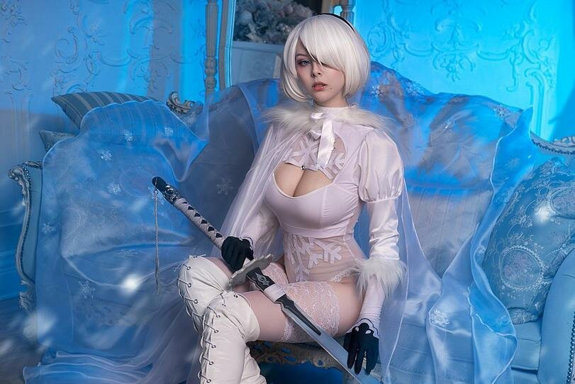 Character Cosplayer Nier Xvideos2 1