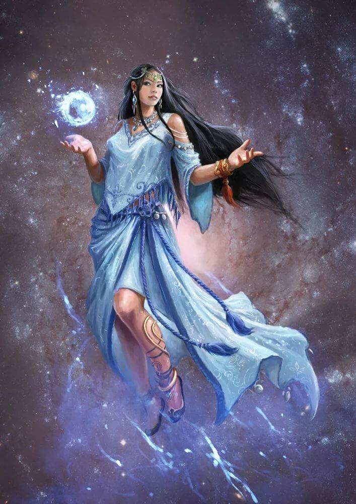 Девушка божество картинки