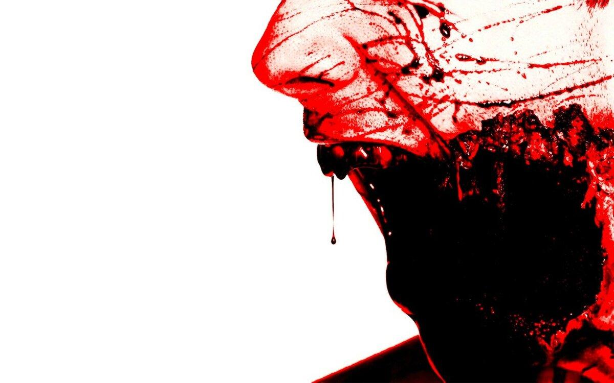 Картинки на аву кровавые