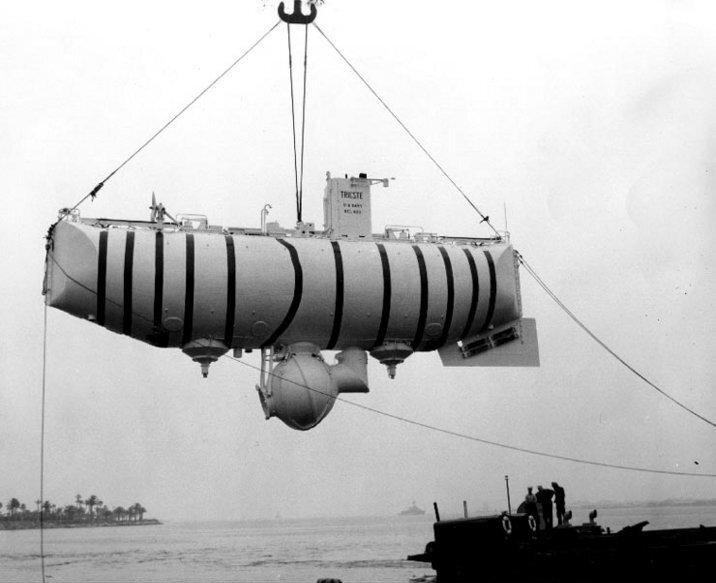 23 января 1960 года установлен рекорд глубинного погружения на дно Марианской впадины