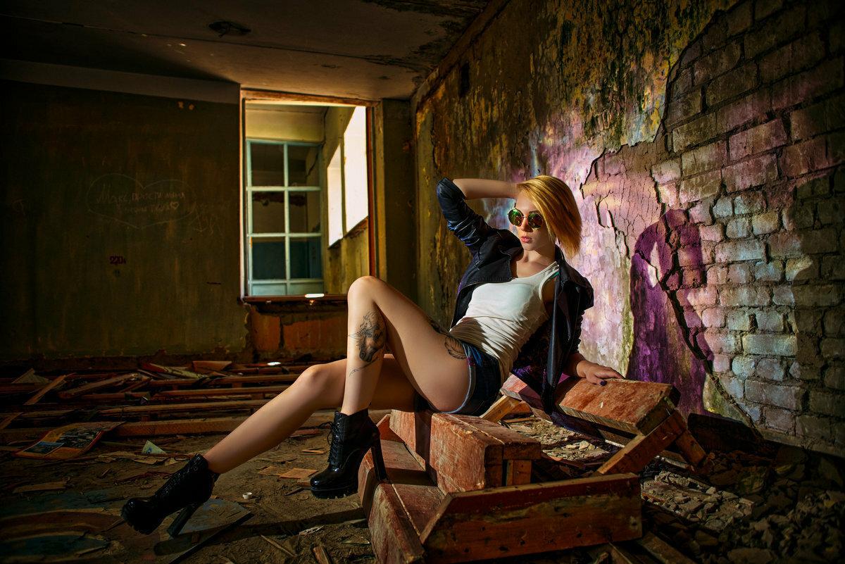 фотосессия в заброшенном здании белгорода описание