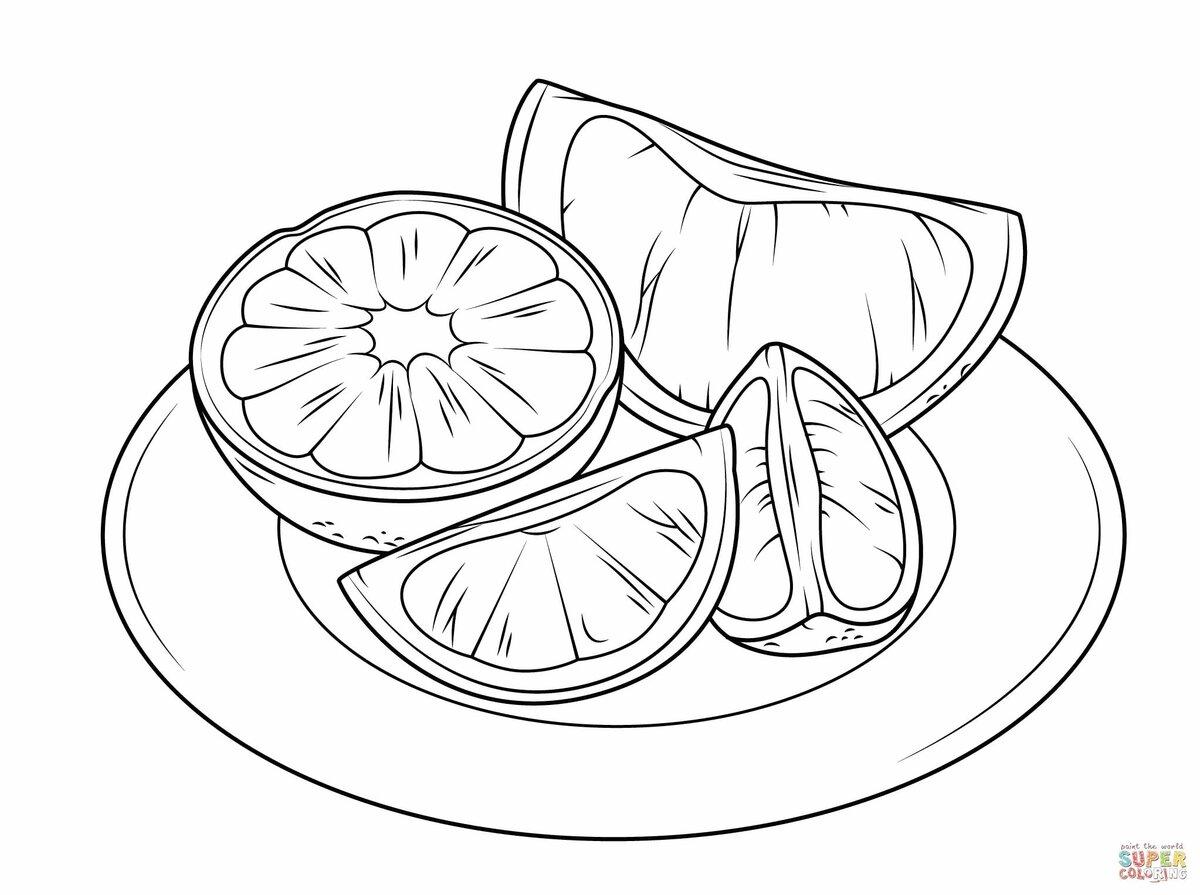человек картинка раскраска овощи на тарелке клэш