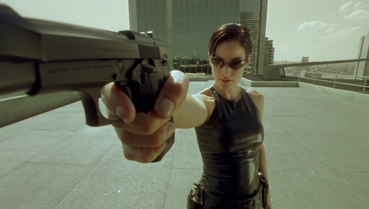 Матрица / The Matrix [Open Matte] (1999/HDTVRip/720p)