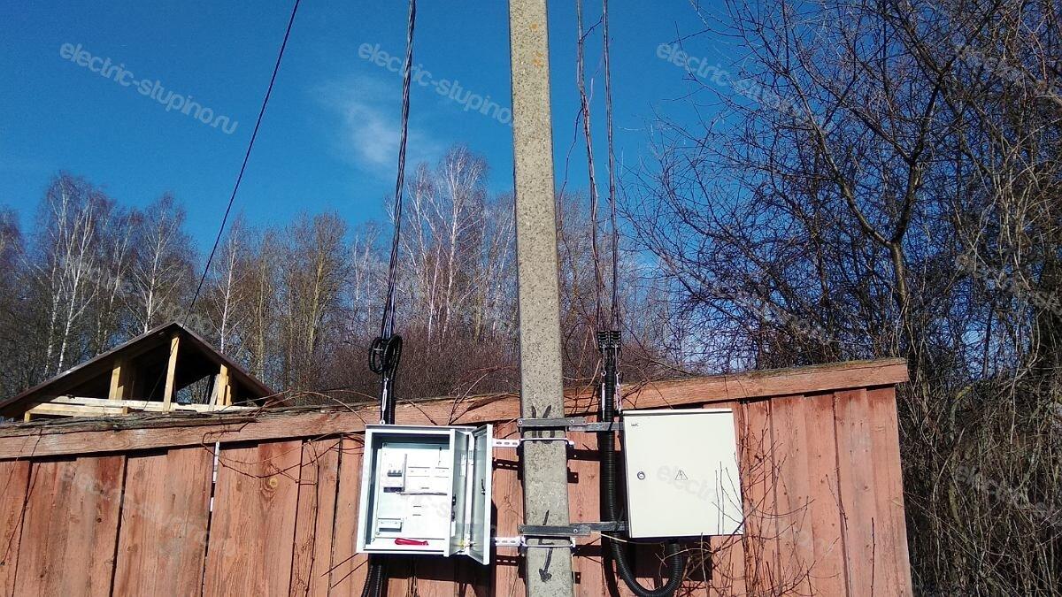 Выполнение ТУ 15 кВт для частного дома прокладка кабеля СИП