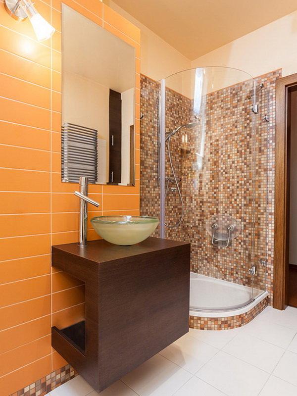 Ванная комната в нашей квартире.
