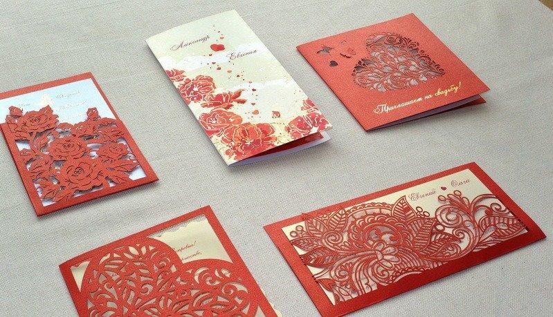 Надписью, дизайнерские открытки на картоне