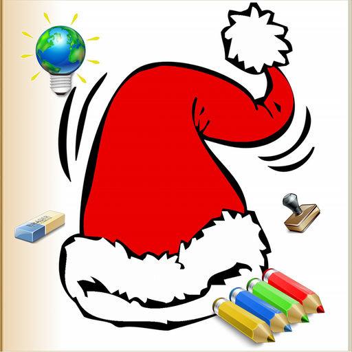 Рождественская раскраска для iPhone Тематические книги ...