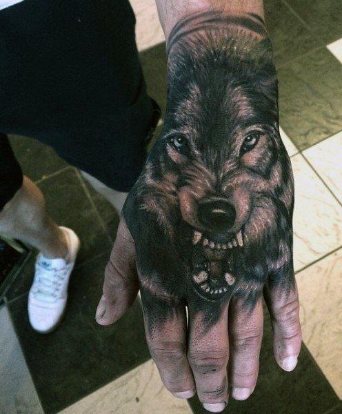 лучший что значит татуировка волка на запясти юная