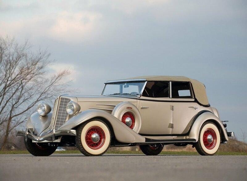 Эта статья посвящёна прекрасным ретро автомобилям 1934 года