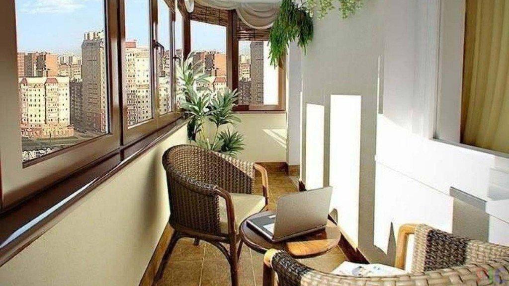 """Балкон с плетеными креслами"""" - карточка пользователя ktoran ."""