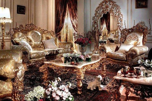 ССтиль барокко в интерьере - совремнный интерьер барокко стал более практичным, комфортабельным и удобным.