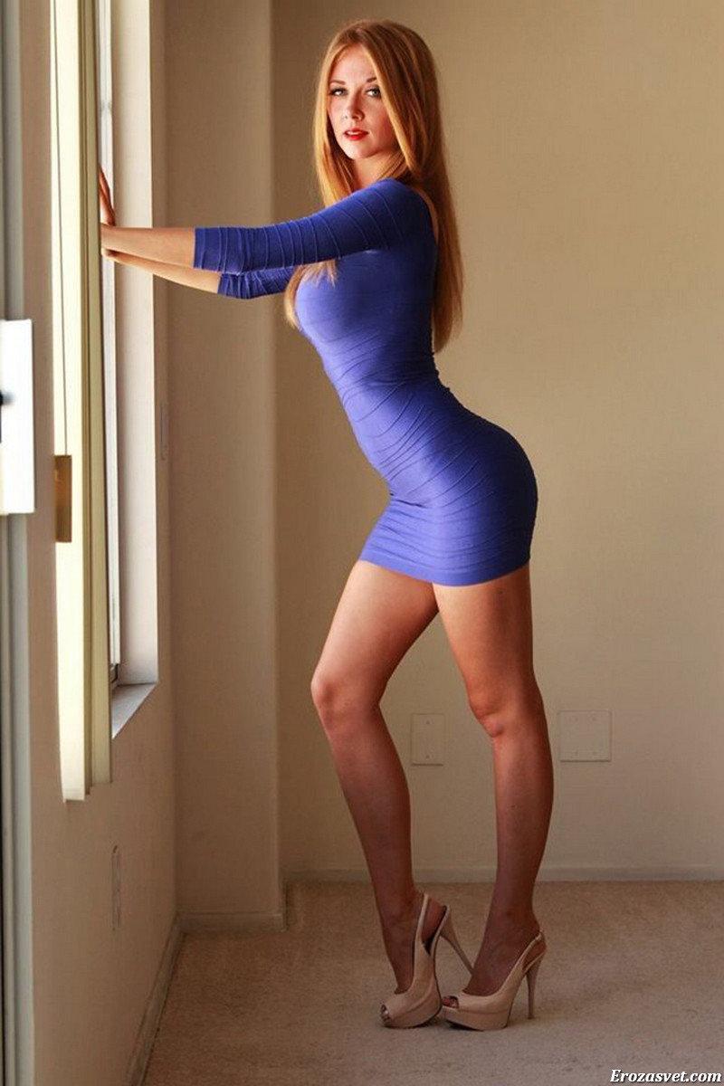 Девочки в сексуальных юбках или платьях
